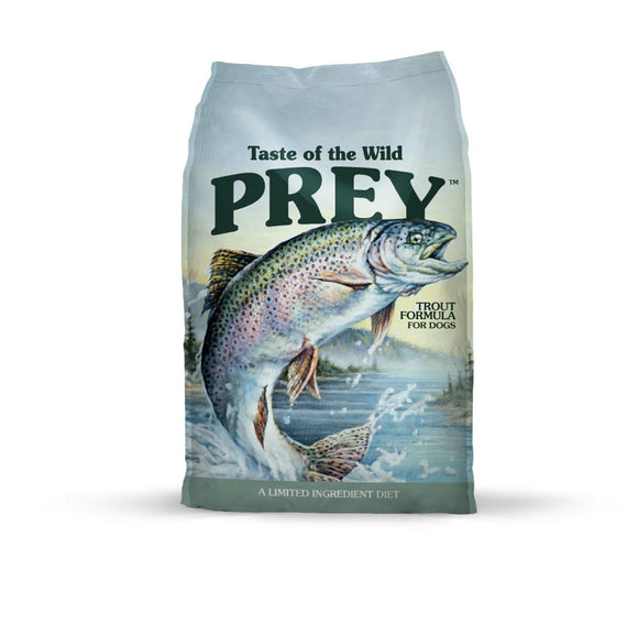 Taste of the Wild Prey Trout Formula for Dogs 25 Lbs