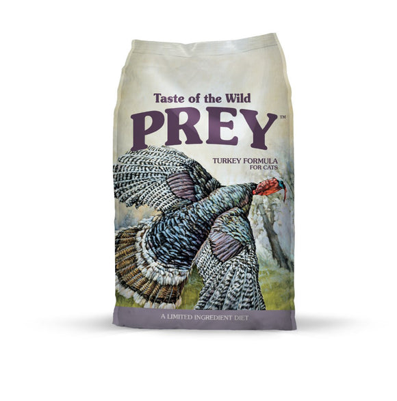Taste of the Wild Prey Turkey Formula for Cats 6 Lbs