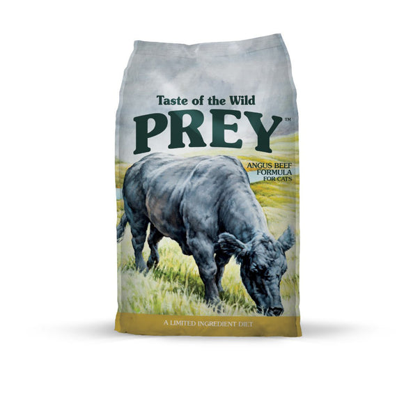 Taste of the Wild Prey Angus Beef Formula for Cats 15 Lbs