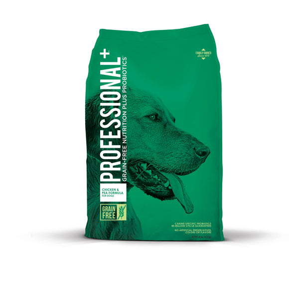 Professional+ Chicken & Pea Formula for Dogs 28 Lbs