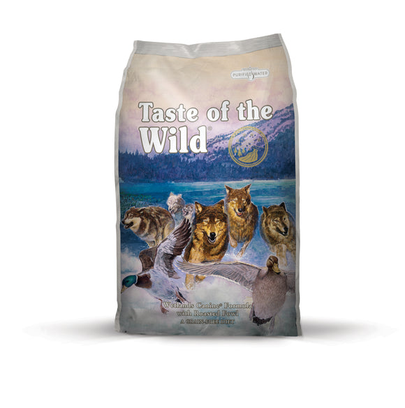 Taste of the Wild Wetlands Canine Recipe for Dog 14 Lbs