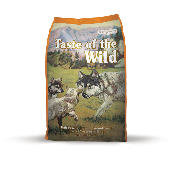 Taste of the Wild High Prairie Puppy Recipe for Puppy 14 Lbs
