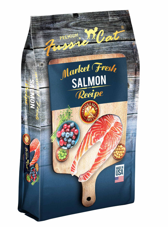 Fussie Cat Market Fresh Salmon Recipe Premium Cat Food 2 Lbs