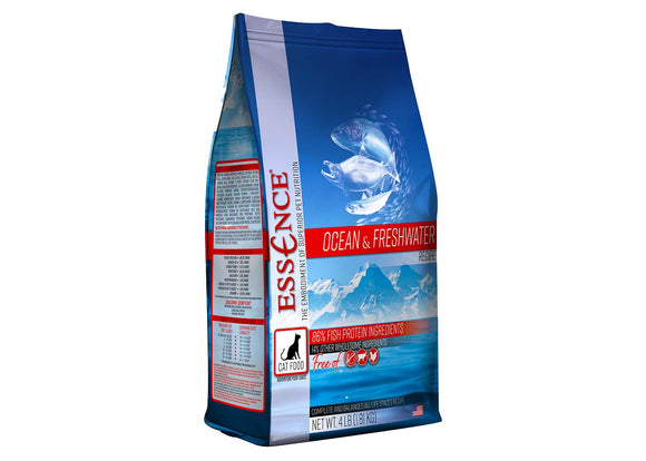 Essence Ocean & Freshwater Recipe Cat Dry Food 4 Lbs