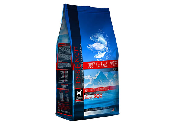 Essence Ocean & Freshwater Recipe Dog Dry Food 12.5 Lbs