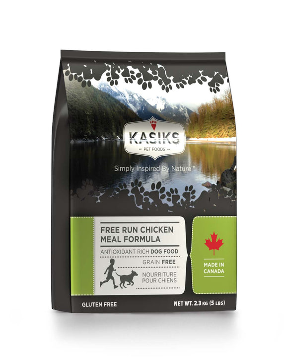 FirstMate Kasiks Free Run Grain Free Chicken Meal Formula Dog Food 5 Lbs