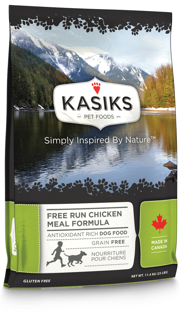 FirstMate Kasiks Free Run Grain Free Chicken Meal Formula Dog Food 25 Lbs