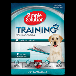 Simple Solution Dog Training Pads 50 Pads