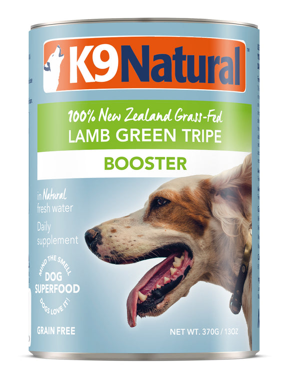 K9 Natural Grain Free Lamb Green Tripe Canned Booster Dog Supplement 13 Oz