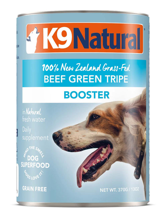K9 Natural Grain Free Beef Green Tripe Canned Booster Dog Supplement 13 Oz