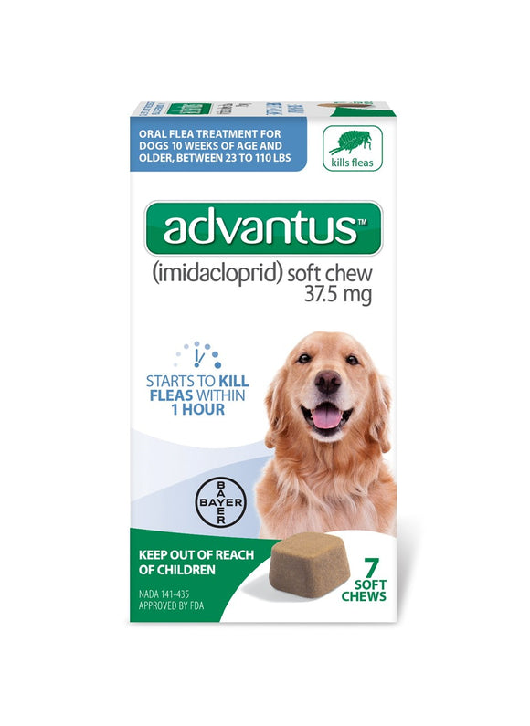 Advantus Advantus Soft Chew 37.5 mg for Large to Extra Large Dog 7 Count