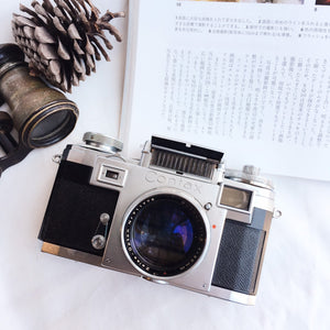 Contax Ⅲa with Lens