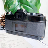 Canon AE-1 Program Black with Lens