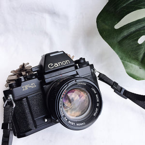 Canon New F-1 AE Finder with Lens
