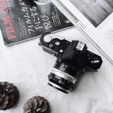 Nikon Nikomat FTN black with Lens