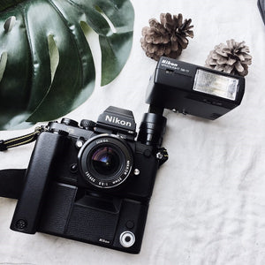 Nikon F3HP with Accessories