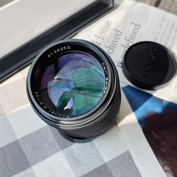 Carl Zeiss Planar 135mm 1:2.8 MMJ