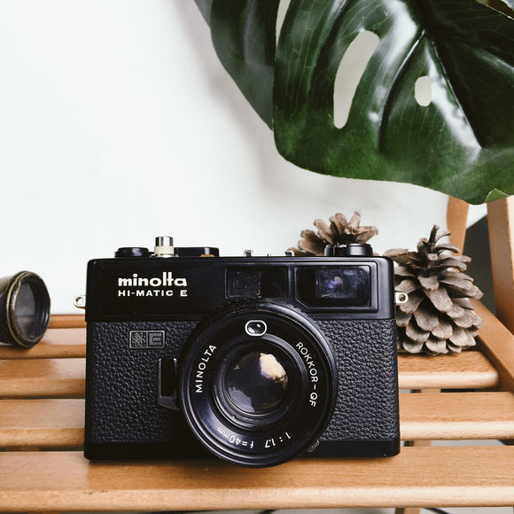 Minolta HI-Matic E Black