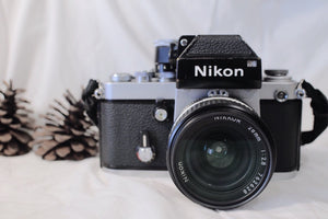 Nikon F2 silver with Nikkor Lens