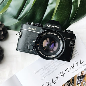 Konica Acom-1 with Lens