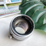 Canon L 50mm 1:1.8 with lens filter LTM