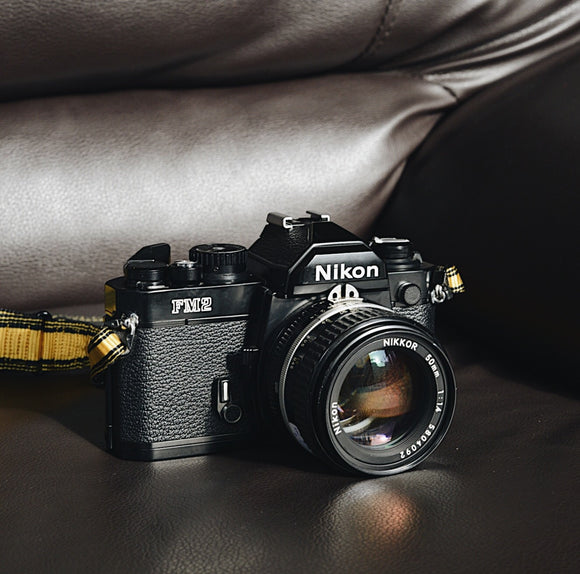 Nikon FM2N7 Black with Lens