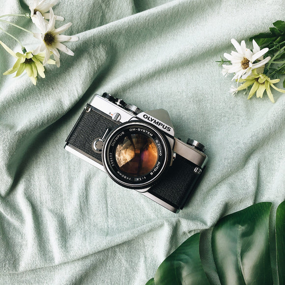 Olympus OM-1 with Lens