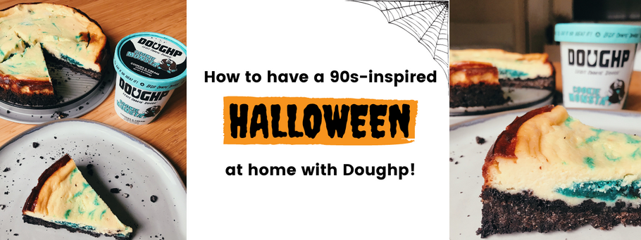 90's Inspired Halloween-At-Home with Doughp: Recipes, DIY crafts & movie suggestions