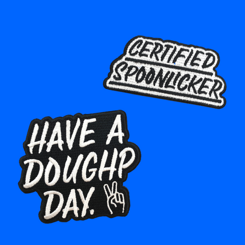 Embroidered Patches - Doughp Cookie Dough