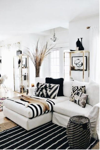 Styling Black Cushion covers