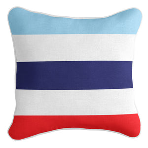 Classic Stripe Cushion Cover - Cabana