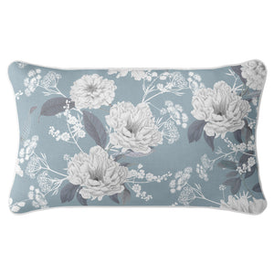 Elizabeth - Peony Blue Cushion Cover