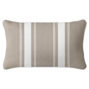 French Stripe Cushion Cover - Sandy