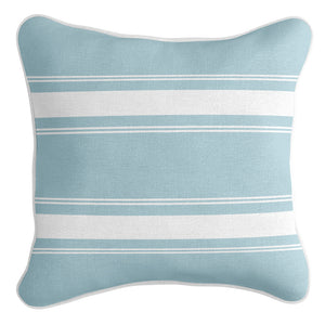 French Stripe Cushion Cover - Sea Mist