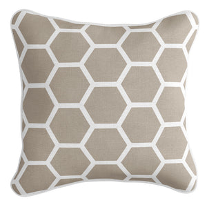 Honeycomb Cushion Cover - Sandy