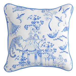 Classic Blue and White Combo Cushion Covers