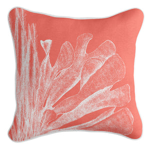 Sea Side Cushion Cover - Coral