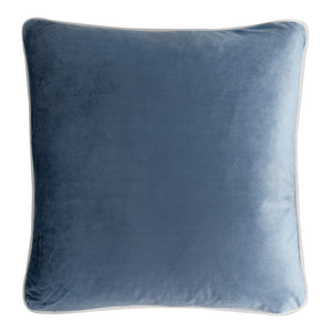 Duck Egg Blue Velvet Combo Cushion Covers
