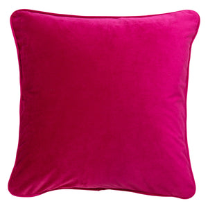 Velvet Cushion Cover - Hot Pink