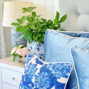 Antonella (Blooming Hydrangeas) Cushion Cover