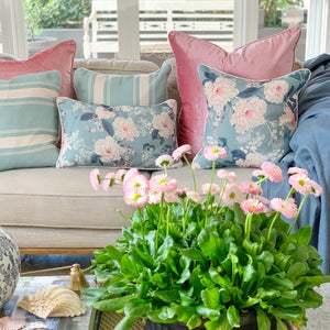 Elizabeth - Peony Blush Cushion Cover