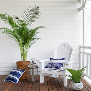Classic Stripe Cushion Cover - Navy