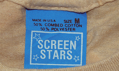 Screen Stars Tag Blue - Early 1980s