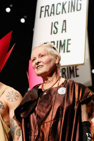 Fracking is a Crime Vivienne Westwood