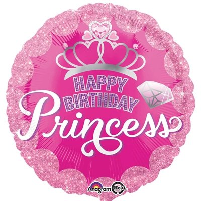 B27 HBD Princess - Sparkling Crown