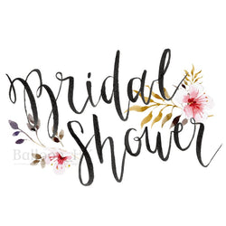 彩印 Template - Bridal Shower