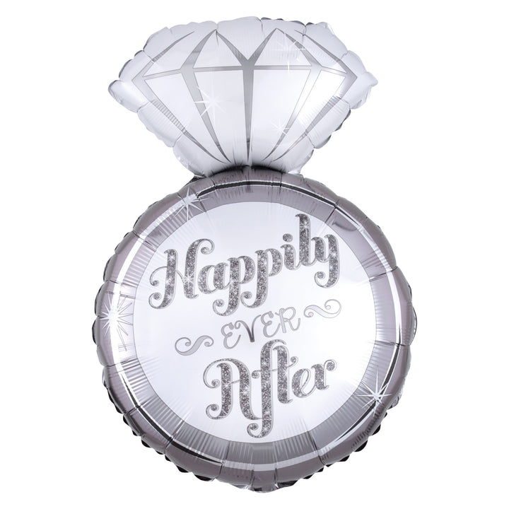 W5 Happily Ever After Ring - 銀色