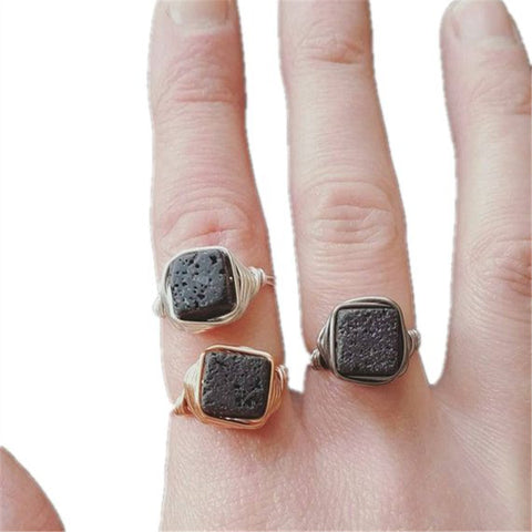 Square Lava Essential Oil Diffuser Ring