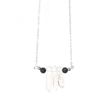 Load image into Gallery viewer, Lava Crystal Necklace