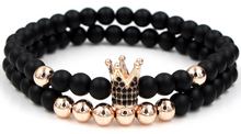 Load image into Gallery viewer, Fashion 2PCS/Set Couple His Hers Crown Bracelet